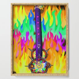 Fusion Keyblade Guitar #196 - Eternal Flame & Nightmare's End Reality Shift Serving Tray