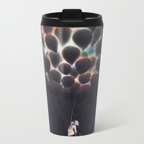 Balloons Metal Travel Mug