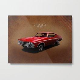 Chevelle SS 396 Metal Print
