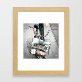 bikes 07 Framed Art Print