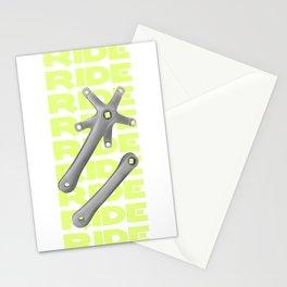 Bike Crankset Stationery Cards