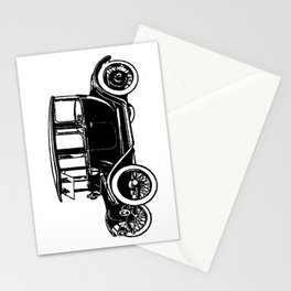 Old car 2 Stationery Cards