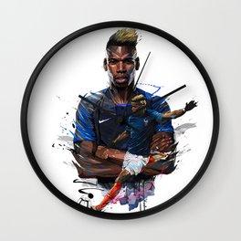 Paul Pogba Wall Clock