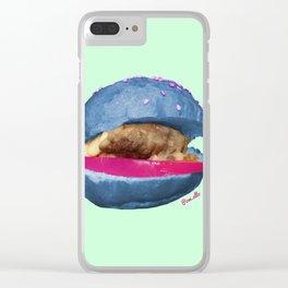 Alien Slider Clear iPhone Case