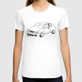 My Friends' Cars - The Rabbit T-shirt
