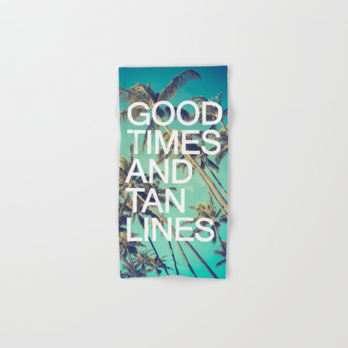 Good Times Hand & Bath Towel