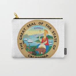 Seal of the State of California Carry-All Pouch
