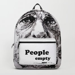 PEOPLE EMPTY ME Backpack