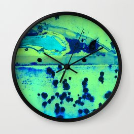 Riddled with Rust Margarita Wall Clock