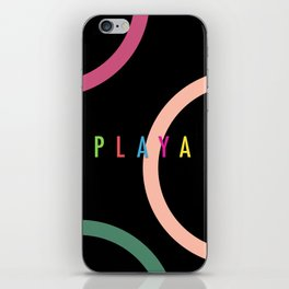 Playa iPhone Skin