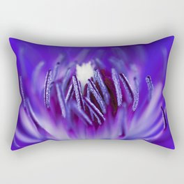 Inside A Flower Rectangular Pillow