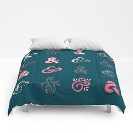 Ampersands Comforters