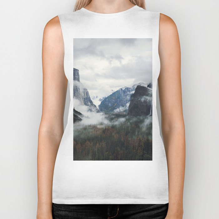 Mountain Landscape photography Biker Tank