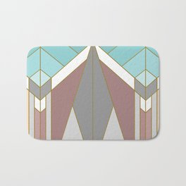 ART DECO G2 (abstract geometric) Bath Mat