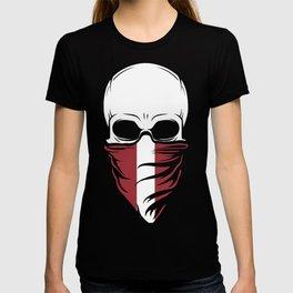 Latvia Skull Tee Shirt - Latvia T-shirt