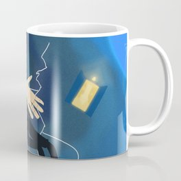 9th Doctor in the Time Vortex Coffee Mug