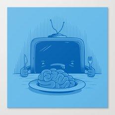 Brain eater Canvas Print