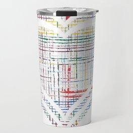 The System - heart Travel Mug