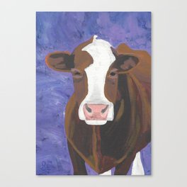 A Cow Named Beulah Canvas Print