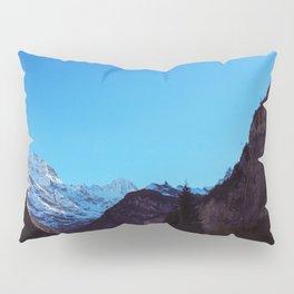 Swiss Alps From Below Pillow Sham