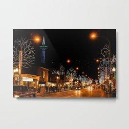 Gatlinburg Nightscape Metal Print