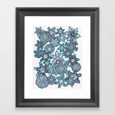 Gentle Snowstorm Framed Art Print