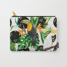 Birds and tropical plants Carry-All Pouch