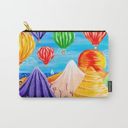 Hot Air Balloon Festival Carry-All Pouch