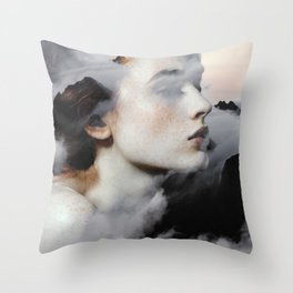 Among The Clouds Throw Pillow