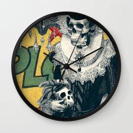 Lady Wall Clock