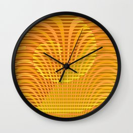 Play with stripes  8 Wall Clock