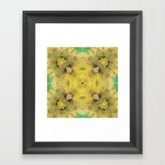 moss piñata Framed Art Print