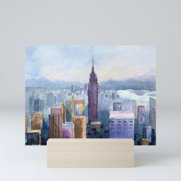 City of New York Mini Art Print