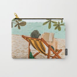 Vacay Book Club #illustration #tropical Carry-All Pouch