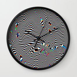 Prism Slicks Wall Clock