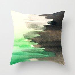 Slime Green Throw Pillow