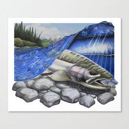 Steelhead Dreams Canvas Print