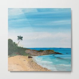 Relaxation by the Beach Metal Print