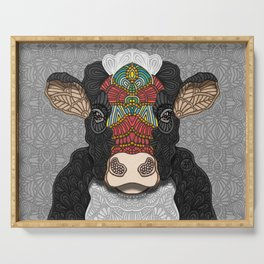 Bella the cow Serving Tray