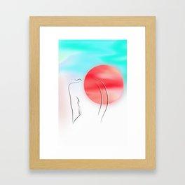 Back Pain Framed Art Print