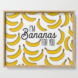 I'm Bananas for You Serving Tray