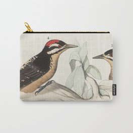 Woodpeckers And Cacti Carry-All Pouch