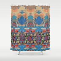 oasis Shower Curtains featuring Oasis by Jim Pavelle