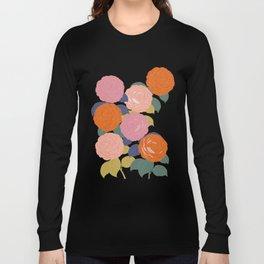 Flowers In Full Bloom Long Sleeve T-shirt