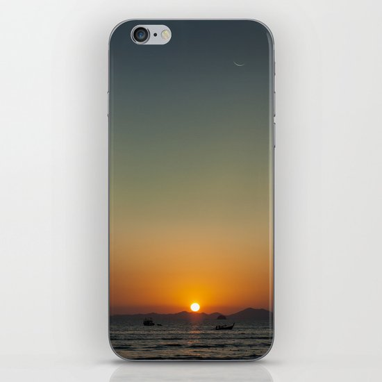 Sunset over the Andaman Sea iPhone Skin