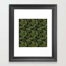 Frond of You - Black Framed Art Print