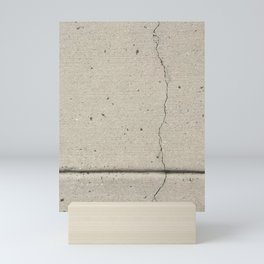 Real, Concrete, not Abstract Mini Art Print