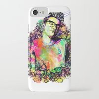 smiths iPhone & iPod Cases featuring I blame everything on The Smiths by Ben Hawke