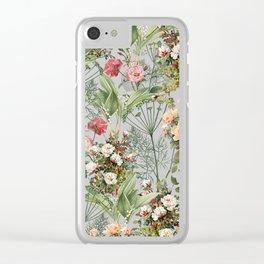 Botanic Clear iPhone Case