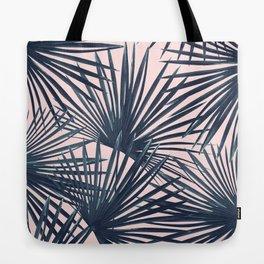 Tropical Fan Palm Leaves #4 #tropical #decor #art #society6 Tote Bag